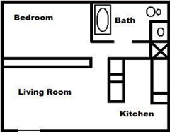 1 bedroom 1 bath apartment fallbrook ca
