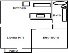 1 bedroom 1 bath apartment vista ca